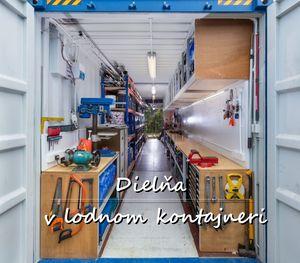 Dielňa v lodnom kontajnery